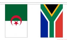 AFRICAN NATIONS - 16.5 METRE BUNTING (54 FLAGS)